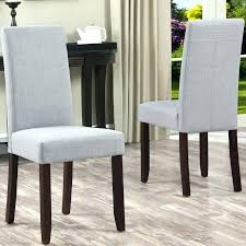 Grey Dining Chair Covers Gray Chairs Upholstered Dark Room