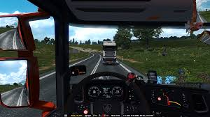 For A Moment I Thought This Truck Was Driving Backwards : Trucksim