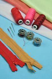Sewing Supplies And Accessories Royalty Free Stock s Image