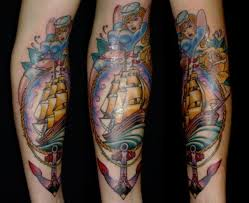 Old School Sailor Tattoo On Forearm