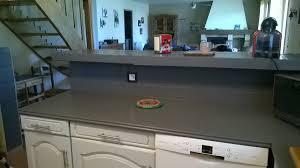 carrelage cuisine plan de travail peindre le carrelage cuisine mur et plan de travail renover ma