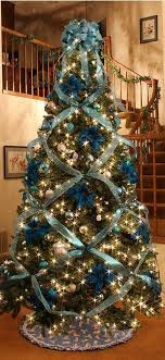 Beautiful Christmas Tree Decorating With Cross Ribbon