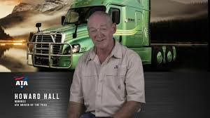 Howard Hall One Of Five Finalist For The 2017 ATA Driver Of The Year ...