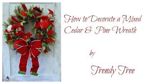 Raz Artificial Christmas Trees by Decorate A Raz Cedar U0026 Pine Wreath For Christmas Youtube