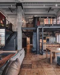 modern interior design s instagram post industrial style