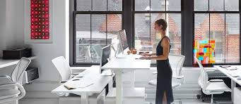 Humanscale Float Standing Desk by Sit Stand Desk Solutions Ergonomic Office Equipment Products And