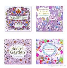 Mini Adult Coloring Books Secret Garden Animal Kingdom Fantasy Dream Enchanted Forest For Kids Painting Colouring Boys Free