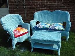 Pleasurable Inspiration Painting Wicker Furniture Tutorial I Have