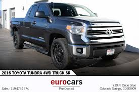 100 Trucks For Sale In Colorado Springs 2016 Toyota Tundra 4WD Truck SR Stock E1269 For Sale Near