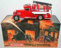 100 Matchbox Fire Trucks MATCHBOX YFE06 1932 FORD AA FIRE ENGINE EBay