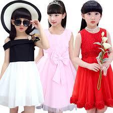 2017 Korean Style Girl Princess Dress Kid Clothes Skirt Top Shirts Pants Party