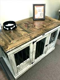 Crate Tv Stand Dog Kennel Side Table Plans Furniture Ideas Crates Puppy Cage