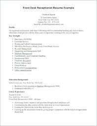Dental Receptionist Resume Objective X Example Medical