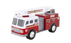 100 Tonka Fire Rescue Truck Mighty Motorized Red And White VIP Outlet