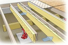 Floor Joist Bracing Support by Got Bounce Part 2 How To Fix A Floor Deflection In An Existing