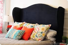 Target Roma Tufted Wingback Bed by Wingback Headboard King With Regard To Roma Tufted Target Prepare