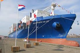 dunkerque l un des plus gros porte conteneurs du monde a été