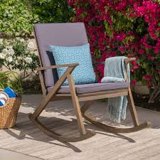 100 Gus Rocking Chair Shop Outdoor Wood By Christopher Knight Home On