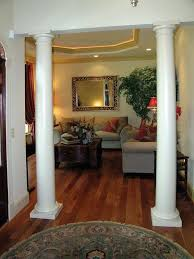 How To Use Living Room Columns Create Rich Details