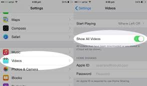 Videos Missing on iPhone After Upgrading to iOS 8 x How to Fix