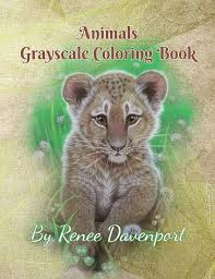 PDF Of Animals And Baby Animals Grayscale Coloring Book 26