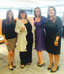 Headline Held Its First Ever Rooftop Book Club On Wednesday 19th August At Carmelite House In London Pictured From Left Are Interviewer Isabelle Broom Of