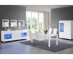 stunning meuble de salle a manger blanc laque photos awesome