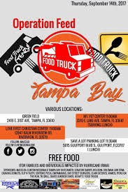 Operation Feed Tampa Bay | McDonald & Associates Collective ... Savory Festival Rolls Across Tampa Bay To St Pete Tbocom Food Truck Industry In Evolves Car Truck Suv Service Menu Jim Browne Inventory Crown Buick Gmc Saint Petersburg Fl Serving And Centcom Vesgating Video That Appears Show A Service Member New App Hiring Drivers The Area Abcactionnewscom Driving School Cdl Traing Florida Cheesy Fried Enchilada Funnel Cake Fox 13 News Bank Has New Name Transformation Tractors Big Rigs Heavy Haulers For Sale Ring Power Trucks Nissan Frontier Titan