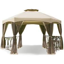 kmart jaclyn smith dutch harbor 14 5 ft hexagon gazebo