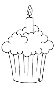 Pin Outlined Birthday Crocodile Holding Up A Cake Stock Cake