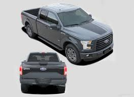 100 Ford Truck Decals 20152018 F150 Route Hood Tailgate Blackout Vinyl