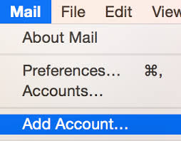 Apple Mail Mac Set up email