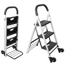 100 Hand Truck Vs Dolly Ladder Trolley 90 Kg Capacity QHDC Australia