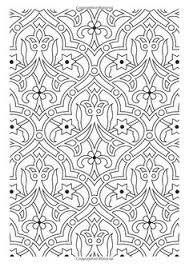 Flower Pattern The Creative Colouring Book For Grown Ups