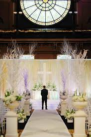 For A Furniture Venues Winter Wonderland Wedding Ceremony At Crowne Plaza Union Station