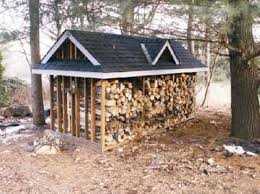 large firewood storage shed plans outdoor buildings ideas for