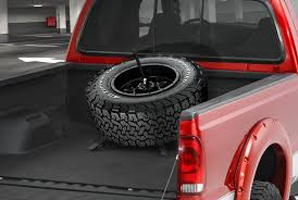 Truck Bed Mounted Spare Tire Carriers — CARiD