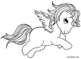 Pegasus Coloring Pages