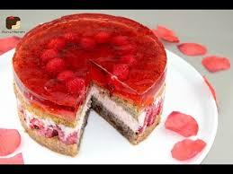 schoko nuss kuchen mit himbeeren zum valentinstag einfach und glutenfrei