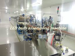 led bulb automatic assembly line manufacturers and suppliers