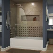 pivot bathtub doors bathtubs the home depot