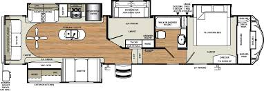 Open Range Rv Floor Plans by Manificent Ideas Two Bedroom Fifth Wheel 2018 Open Range 376fbh