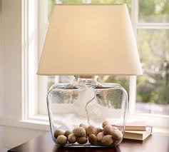 Home Depot Tiffany Table Lamps by Decor U0026 Tips Clear Glass Nightstand Lamps With Home Depot Lamp