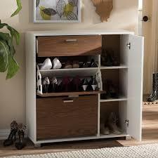 Baxton Shoe Storage Cabinet by Baxton Studio Chateau Storage Shoe Black Cabinet Free Shipping