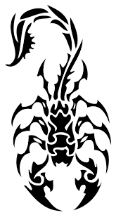 And Cross Design Rose Tribal Tattoo