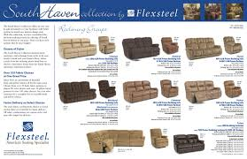 Flexsteel Power Reclining Couch by Flexsteel Reclining Frames Southhaven Value Collection Sofas