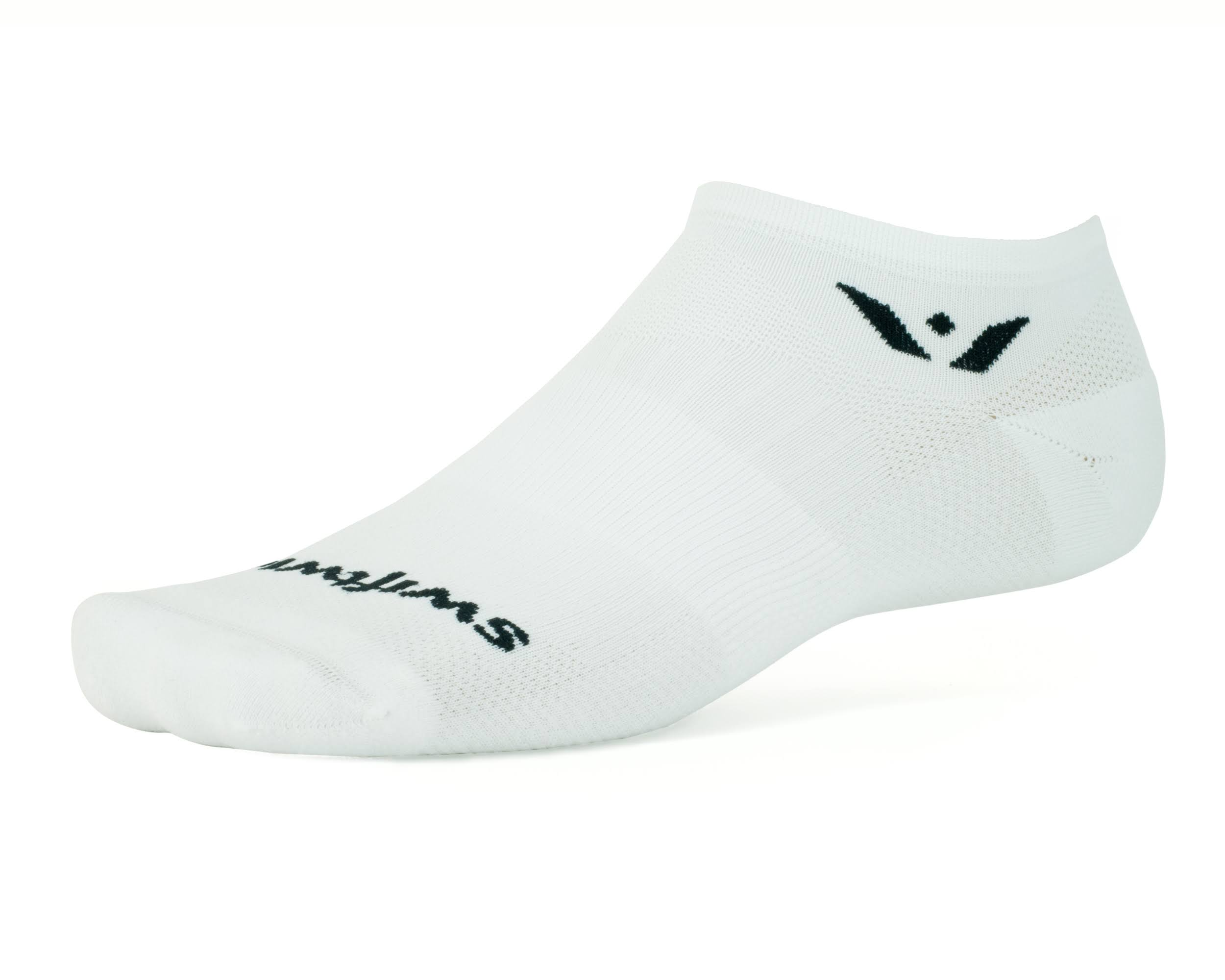 Swiftwick Zero Aspire Socks - Medium, White