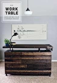 diy work table malm dresser hack malm ikea malm dresser and