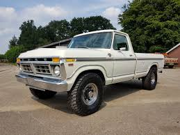 1977 Ford F250 XLT Ranger With 460ci V8 - Speed Monkey Cars