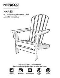 Polywood Folding Adirondack Chairs by Polywood St Croix Patio Adirondack Chair Exclusively At Target